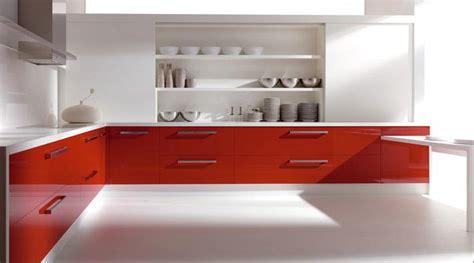 muebles de cocina en color blanco  moderno lineas rectas