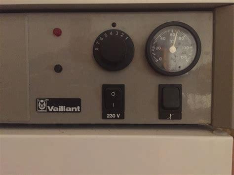 vaillant heizung einstellen gasetagenheizung vaillant einstellen heizung