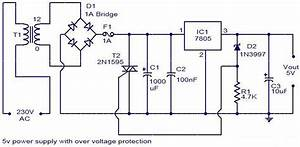 5v Power Supply With Over Voltage Operation In 2019