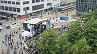Thursday at The Square - Buffalo, NY (Time Lapse) - YouTube