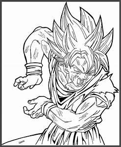 Juegos De Goku Fase 4 Para Colorear