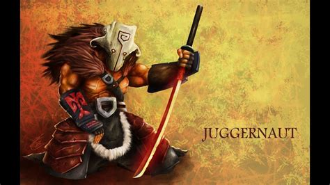 dota 2 juggernaut yurnero gameplay by youtube