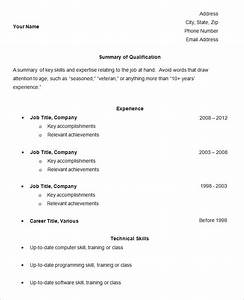 free easy resume templates simple basic sample good res With easy online resume