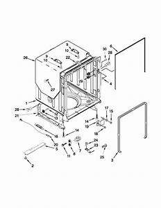 29 Kenmore Elite Dishwasher Parts Diagram