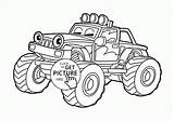 Coloring Bulldozer Pages Monster Truck Transportation Blaze Cartoon Source sketch template