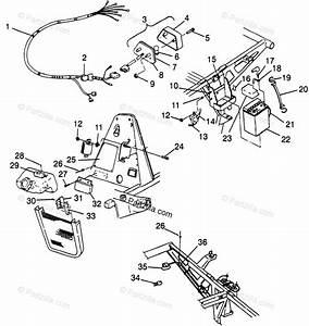 Polaris Atv 1997 Oem Parts Diagram For Electrical