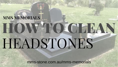 how to clean headstones memorial restorations brisbane