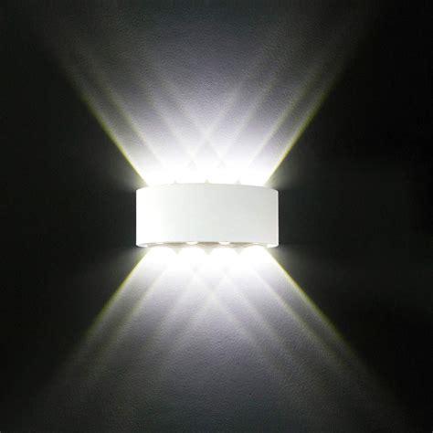 Applique Da Interno - applique da parete interno moderno 8w bianco lade led