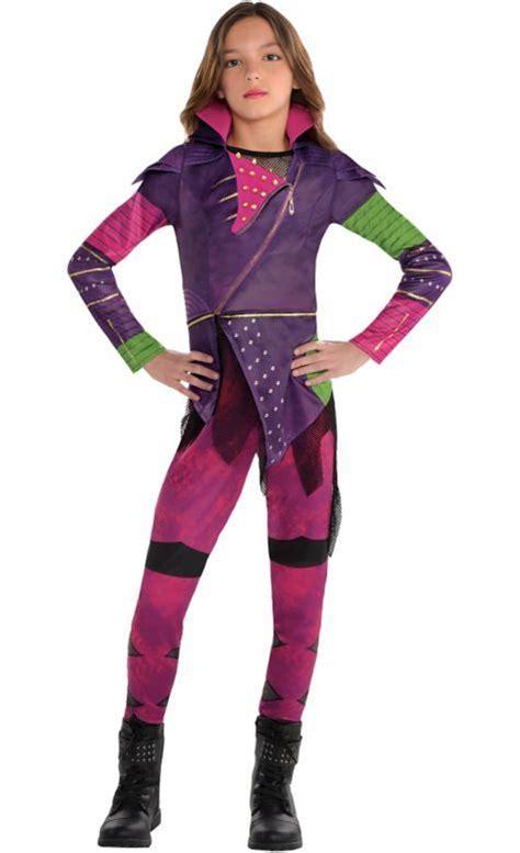 girls mal costume disney descendants party city