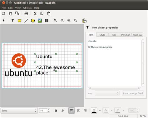libreoffice business card template printing business card creation software ask ubuntu