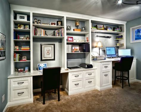 built in desk ideas built in bookcases ideas for small space