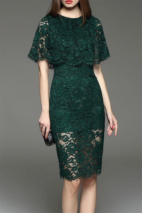 elegant lace capelet dress kebaya batik dress brokat
