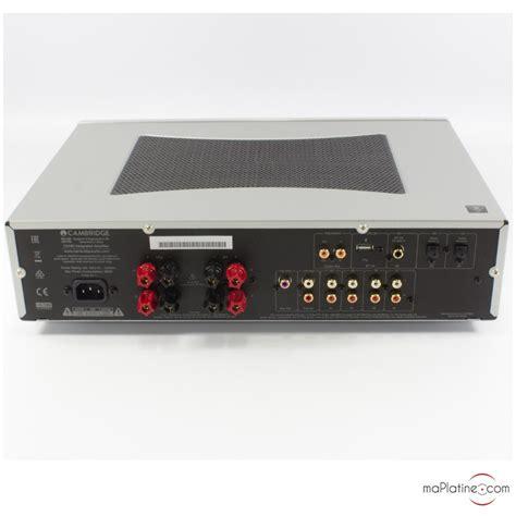 cambridge audio cxa integrated amplifier maplatinecom