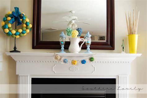 Spring Decorating Ideas For Your Fireplace Mantel Shelf