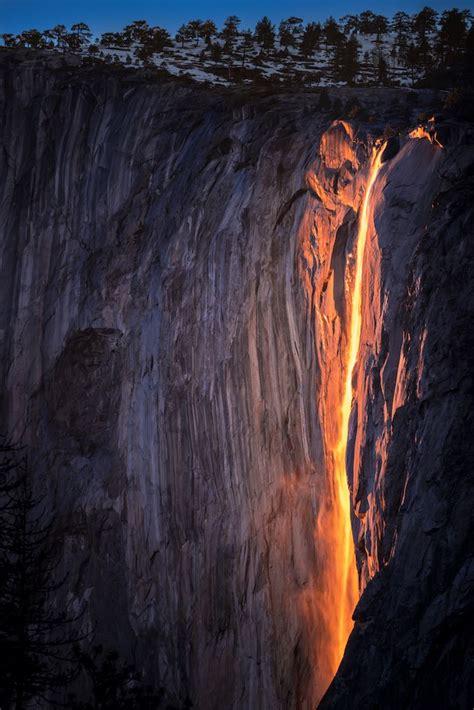 Yosemite Firefall Can Viewed Through February