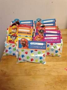 PAW Patrol Goodie Bag Ideas