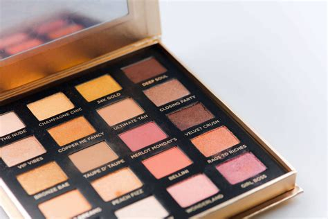 iconic london day  slay eyeshadow palette review