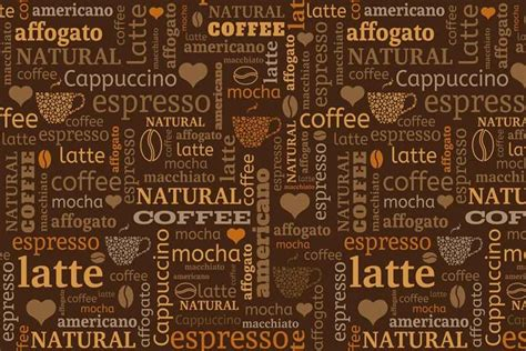 coffee beans  text graphic coffee wallpaper walls