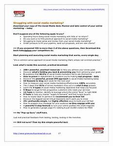 social media marketing plan template 2017 With advertising media plan template