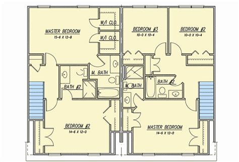 symmetrical house plans symmetrical duplex house plan 31513gf architectural designs house plans