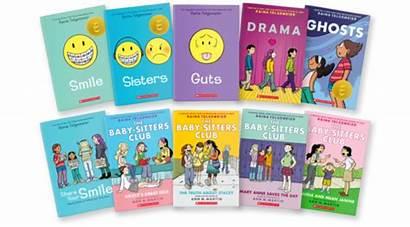Raina Telgemeier Graphic Novels Books Guts Reading