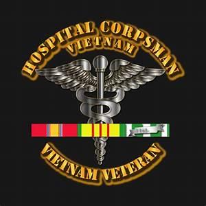 Navy Hospital Corpsman W Vietnam Svc Ribbons Marines