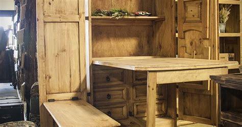 chuck wagon armoire  fold  table  benches
