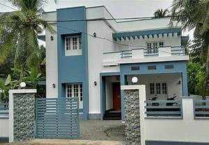 4 Bedroom Contemporary Home In 2100Sqft For 30 Lakhs With
