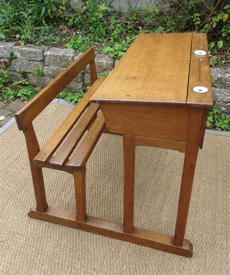 bureau ecolier en bois bureau pupitre écolier en bois