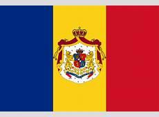 Die Flagge von Rumänien