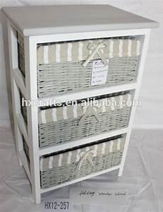 Meuble A Panier : polyvalent meuble de salle de bain rangement 3 osier rotin ~ Teatrodelosmanantiales.com Idées de Décoration