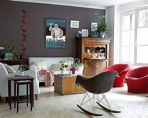 10 charming living room design ideas decoholic for Modern living room with antique furniture
