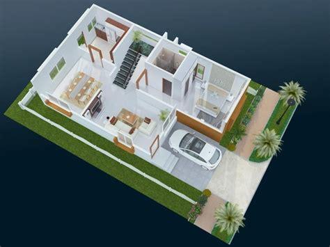 duplex house plans west facing  amazing