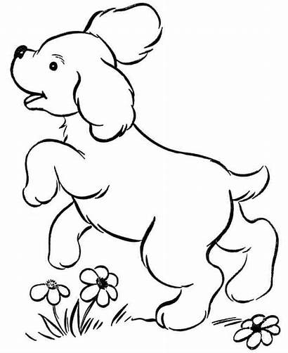 Puppies Cliparts Coloring Puppy Pages Dog Printable