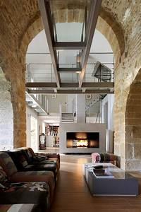 architecture interieure maison pierre chapelle lyon With maison bois et pierre 7 galerie de photos apmaq