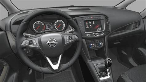 Opel Zafira Interior by Opel Zafira 2016 Dimensions Boot Space And Interior