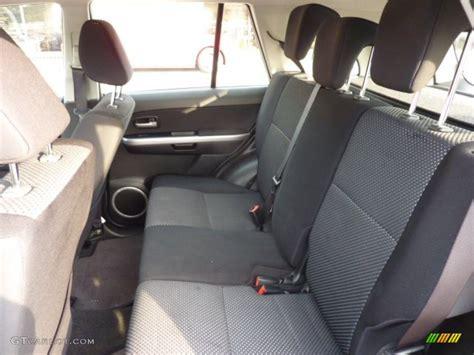 Black Interior 2007 Suzuki Grand Vitara 4x4 Photo