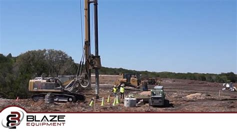 ek hp drilling   powerline job  del rio tx