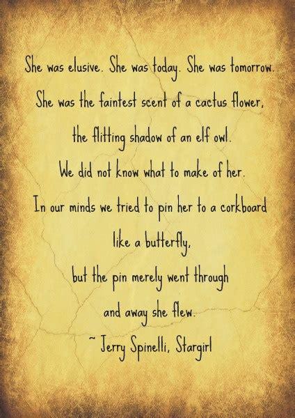 famous quotes  stargirl quotesgram