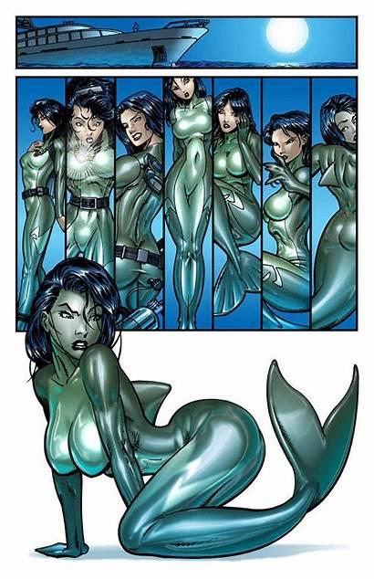 Lois Lane Mermaid Into Deviantart Mermaids Transformation