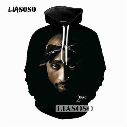 Tupac 2pac Hoodie Hoodies Rapper 3d Clothing