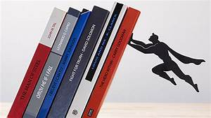 Superhero, Bookends, Keep, Your, Books, Safely, Elevated