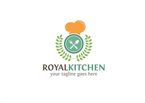 royal kitchen logo creative logo templates creative market
