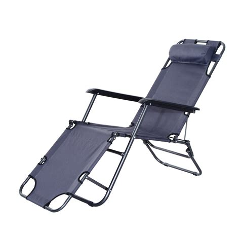 sun chaise lounge chairs outsunny folding lounge chair chaise portable recliner sun lounger outdoor garden patio grey