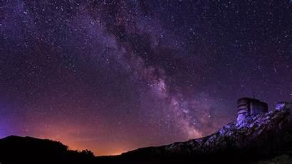 8k 4k Sky Starry Milky Way Night