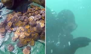 Sunken Treasure Found