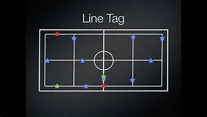 P E  Games - Line Tag