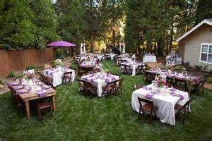 backyard wedding outstanding backyard wedding arrangement ideas weddceremony