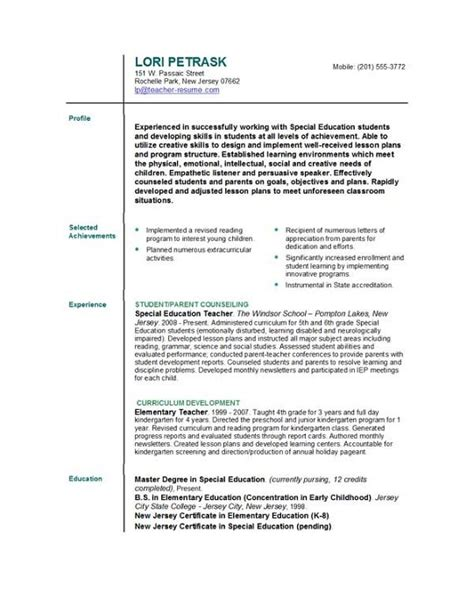 Help On A Resume by Resume Templates Easyjob