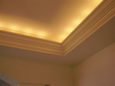 tray ceiling lighting lighted tray ceiling home pinterest